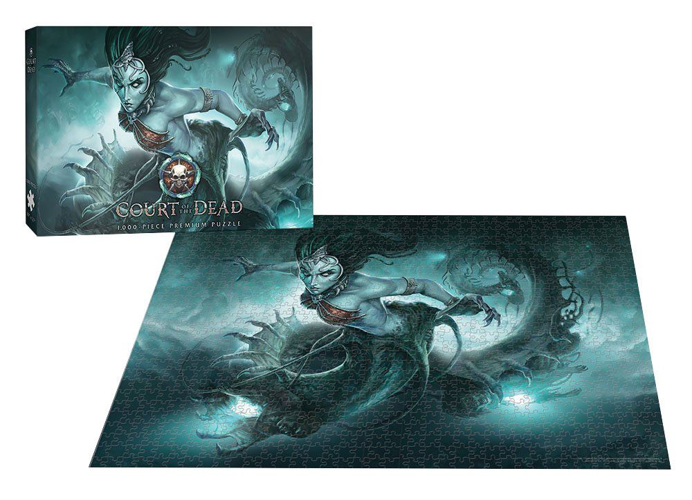 Court of the Dead Puzzle Death's Siren 1000 peças