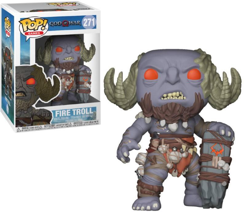 POP! Games: God of War - Fire Troll Vinyl Figure 10 cm