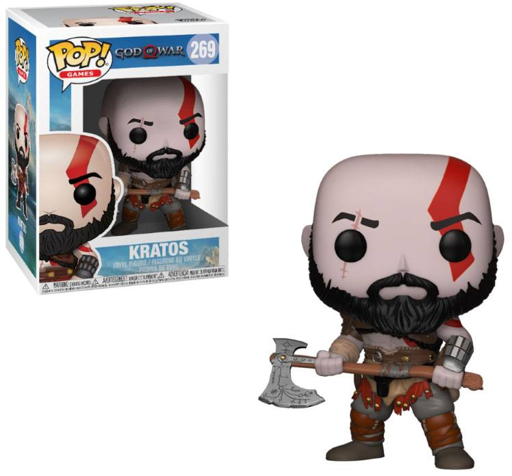 POP! Games: God of War - Kratos Vinyl Figure 10 cm