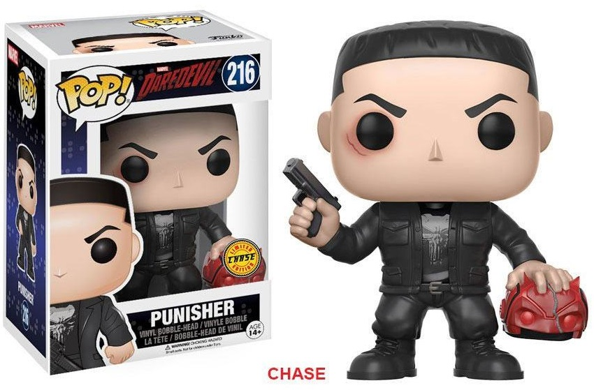 Pop! TV: Marvel - Daredevil: Punisher Chase Vinyl Figure 10 cm