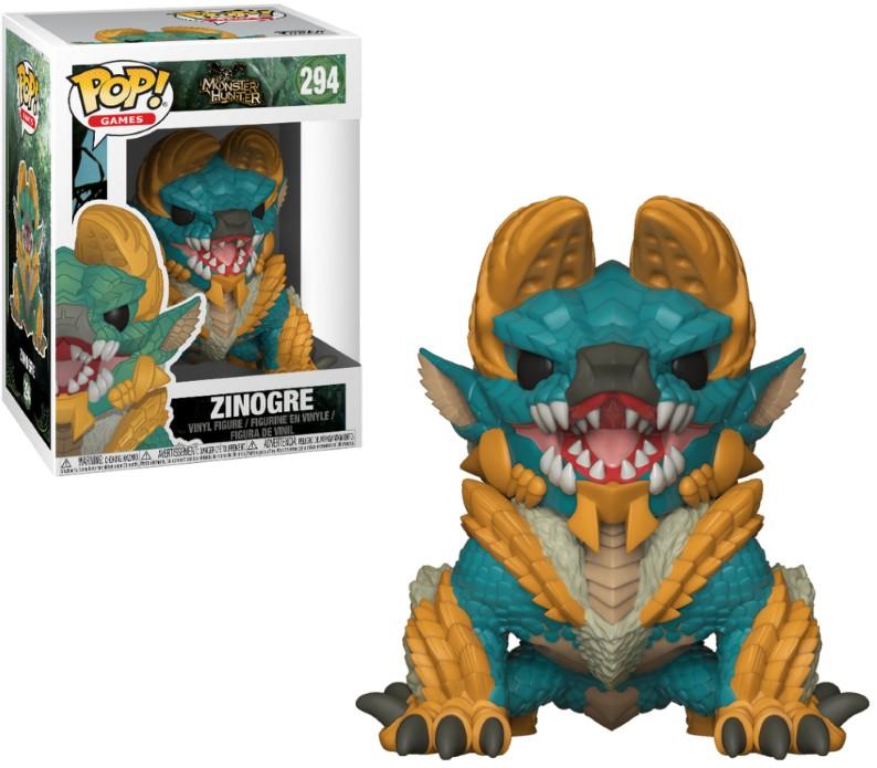 Pop! Games: Monster Hunters - Zinogre Vinyl Figure 10 cm