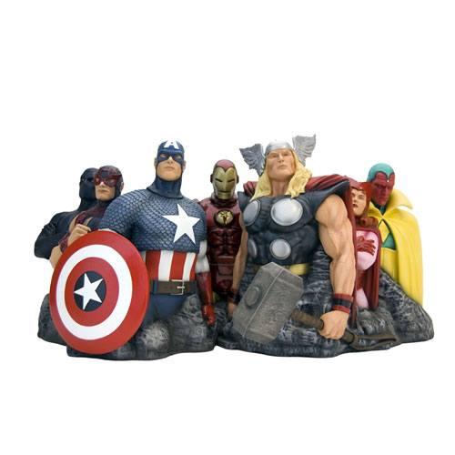Avengers Assemble Premium Motion Statue Avengers (Alex Ross) 25 x 45 cm