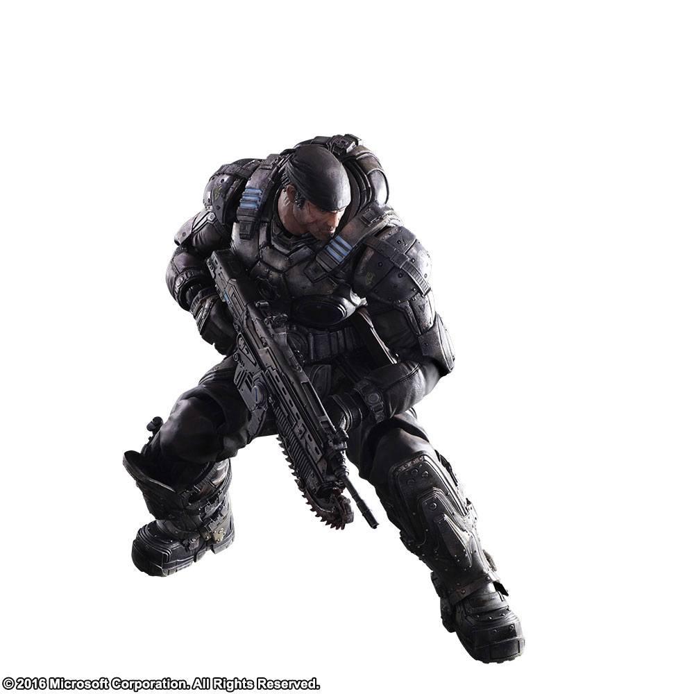 Gear of War Play Arts Kai Action Figure Marcus Fenix 27 cm