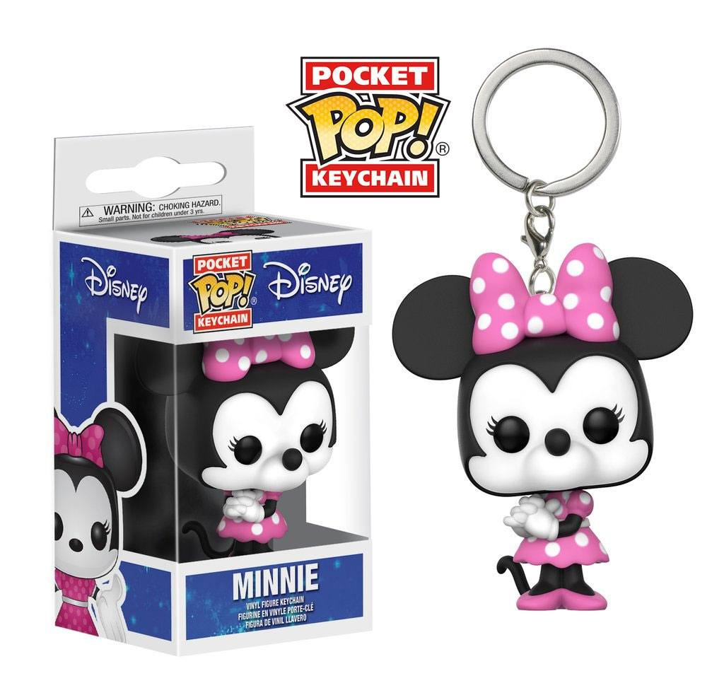 Disney Pocket POP! Vinyl Keychain Minnie Mouse 4 cm