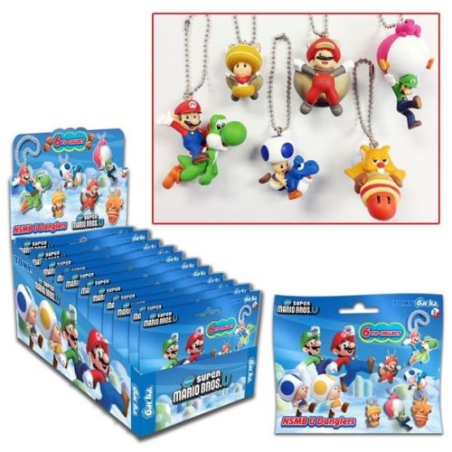 Super Mario Bros. Keychains Mystery Bag
