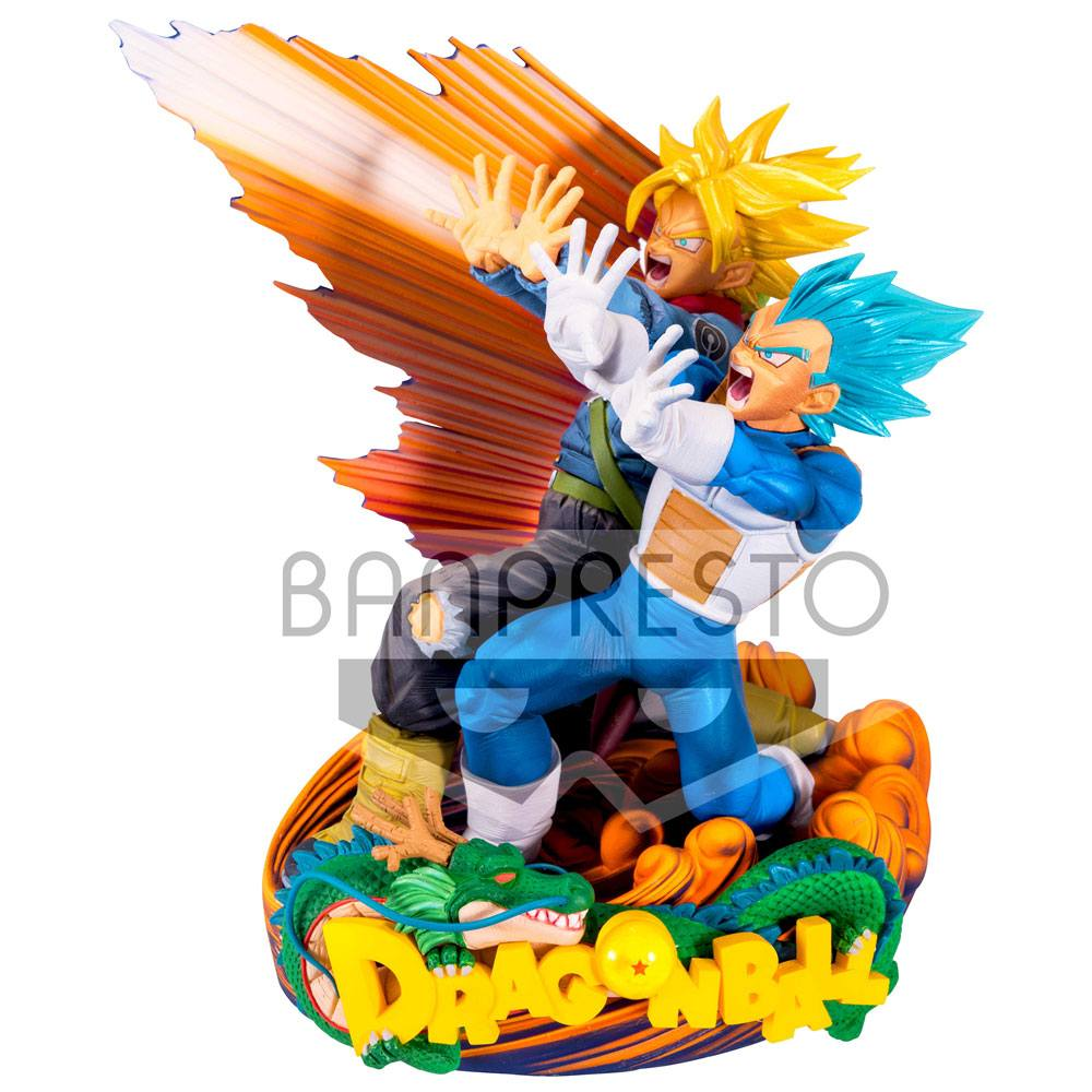 Dragonball Super Super Master Stars Piece Figure Vegeta & Trunks 20 cm