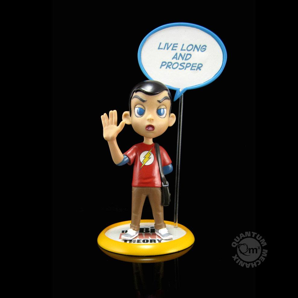 The Big Bang Theory Q-Pop Figure Sheldon Cooper 10 cm
