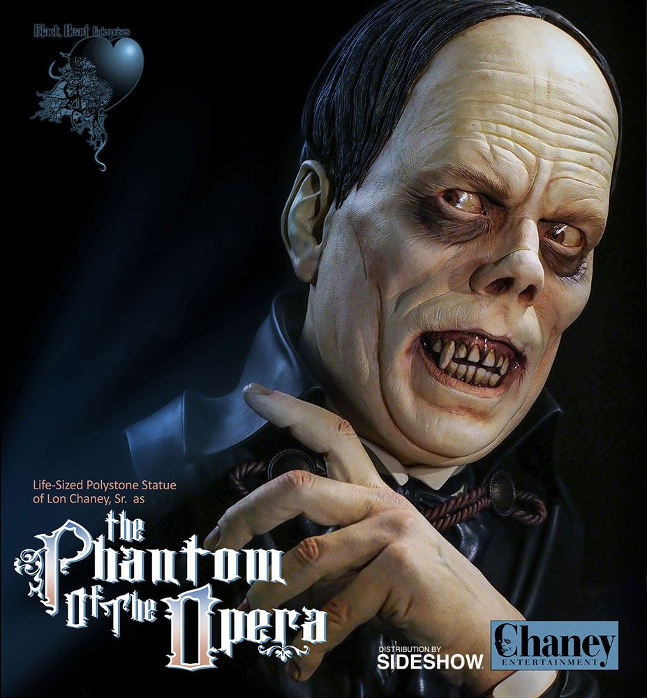 Phantom of the Opera Life-Size Bust Lon Chaney Sr. 43 cm
