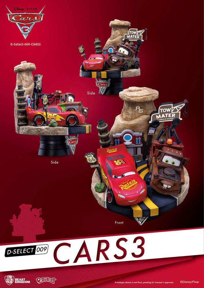 Cars 3 D-Select PVC Diorama 13 cm