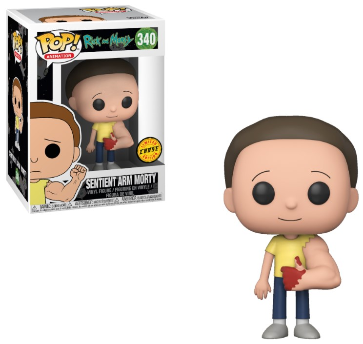 Pop! Cartoons: Rick and Morty Sentinent Arm Morty Chase Vinyl Figure 10 cm