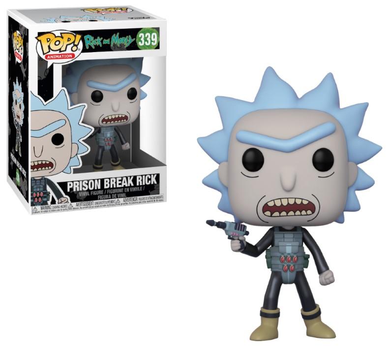 Pop! Cartoons: Rick and Morty - Prison Escape Rick Vinyl Figure 10 cm