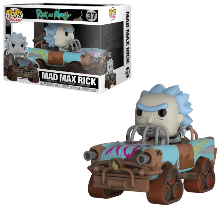 Pop! Rides: Rick and Morty - Mad Mad Rick Vinyl Figure 15 cm