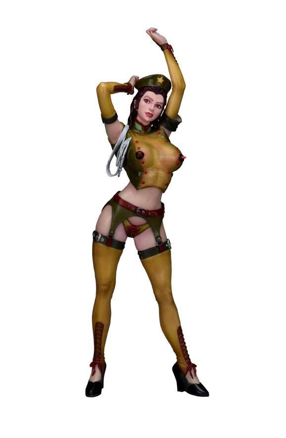 Original Character Statue Sophia Zkebevitch Nylon Cosplay Ver. Olive 40 cm