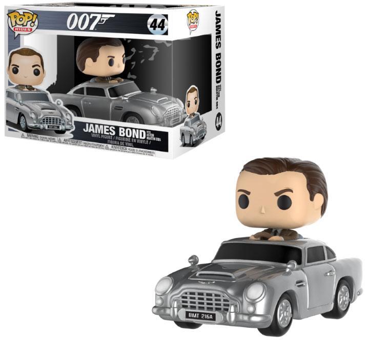 James Bond POP! Rides Vinyl Vehicle with Figure Sean Connery & Aston Martin