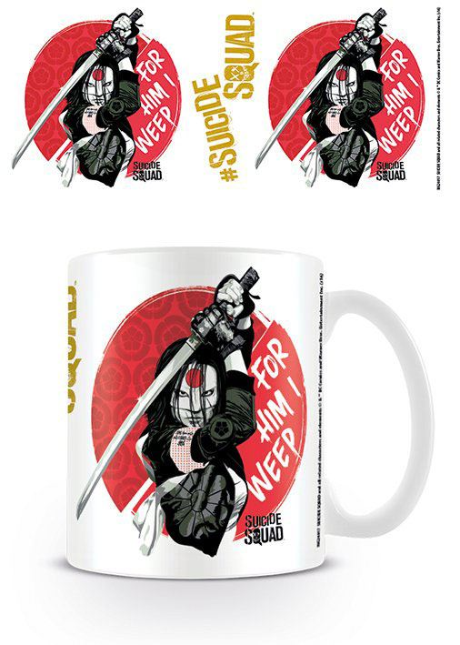 Caneca Suicide Squad For Him I Weep