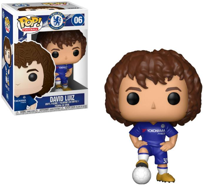 EPL POP! Football Vinyl Figure David Luiz (Chelsea) 10 cm