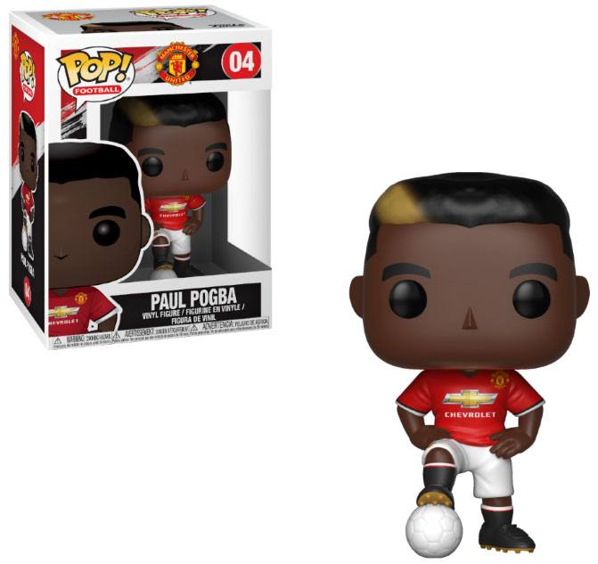 EPL POP! Football Vinyl Figure Paul Pogba (Manchester United) 10 cm