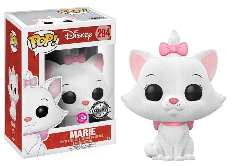 Aristocats POP! Disney Vinyl Figure Marie Flocked Exclsuvie Edition 10 cm