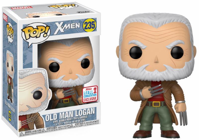 X-Men POP! Marvel Figure Old Man Logan 2017 Fall Convention Exclusive 10 cm
