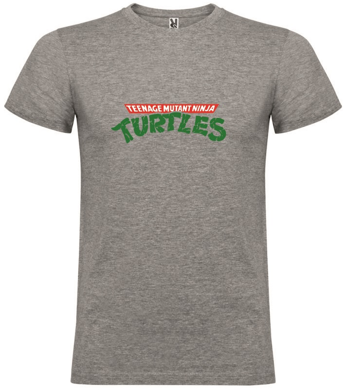 T-Shirt Teenage Mutant Ninja Turtles Logo Tamanho M