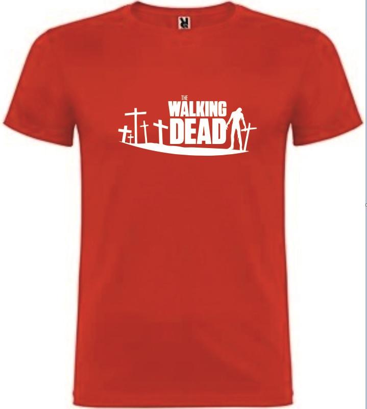 T-Shirt The Walking Dead Tamanho M