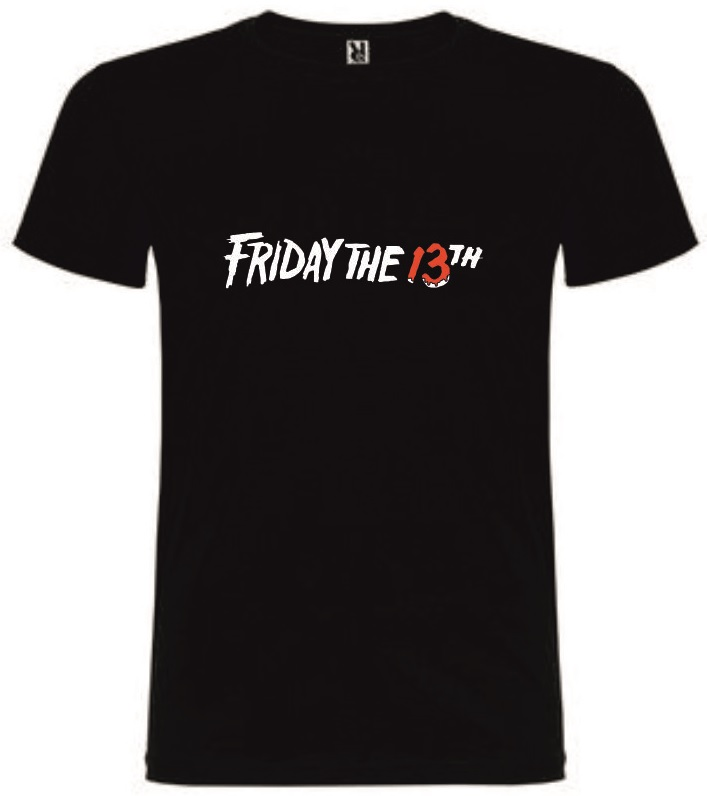 T-Shirt Friday the 13th Tamanho L