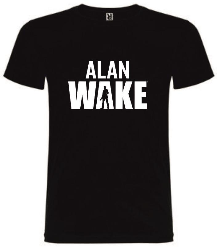 T-Shirt Alan Wake Tamanho L