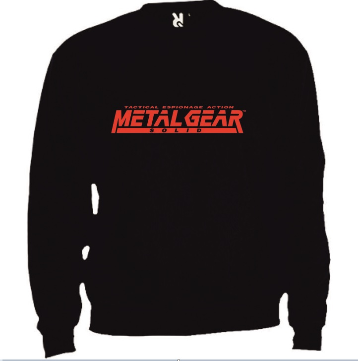 Sweat Metal Gear Solid Tactical Espionage Action Tamanho M