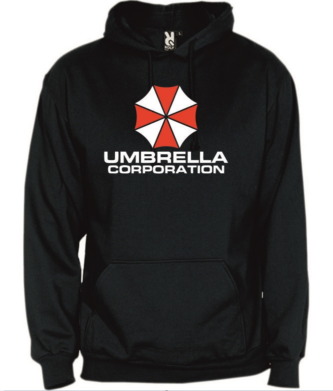 Hoodie Resident Evil Umbrella Corporation Tamanho L
