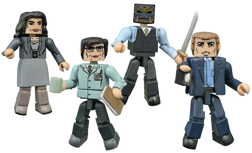 Gotham Minimates Action Figures 5 cm Series 1 Box Set