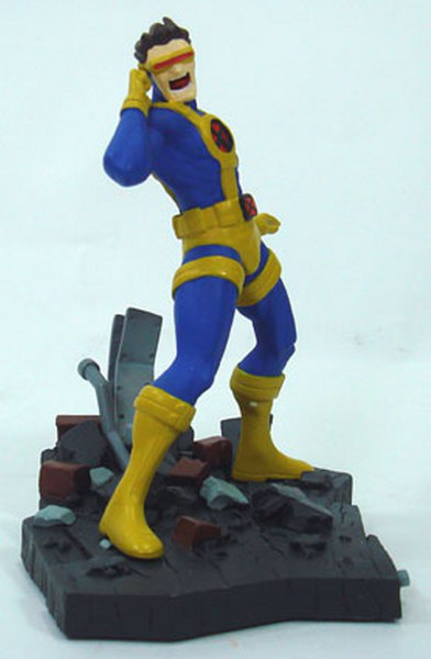 Marvel Civil War Cyclops Resin Statue 18 cm