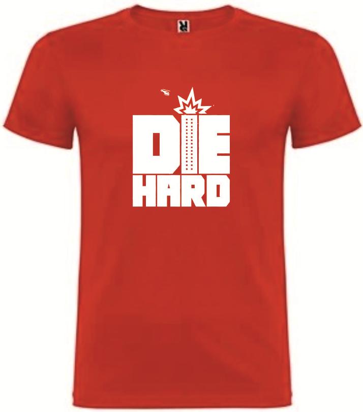 T-Shirt Die Hard Tamanho M