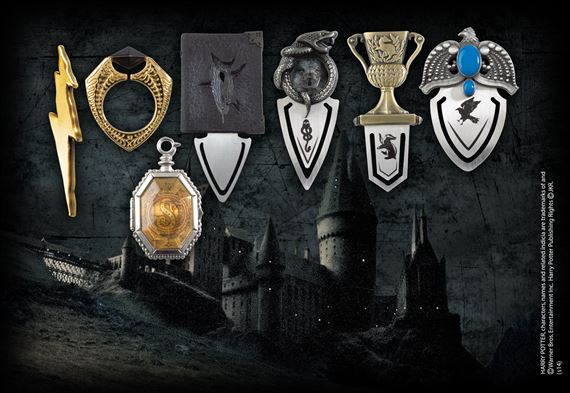 Harry Potter: The Horcrux bookmark Collection (7 Bookmars)