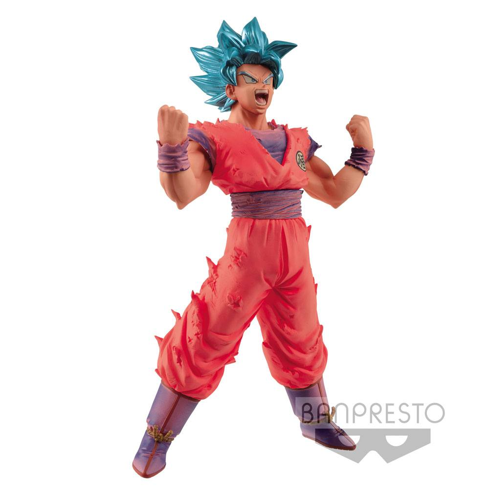 Dragonball Z Blood of Saiyans Figure Super Saiyan Blue Goku 18 cm