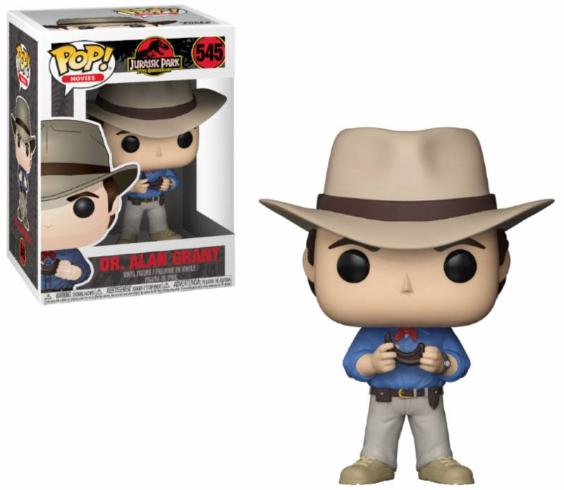 Pop! Movies: Jurassic Park - Dr. Alan Grant Vinyl Figure 10 cm