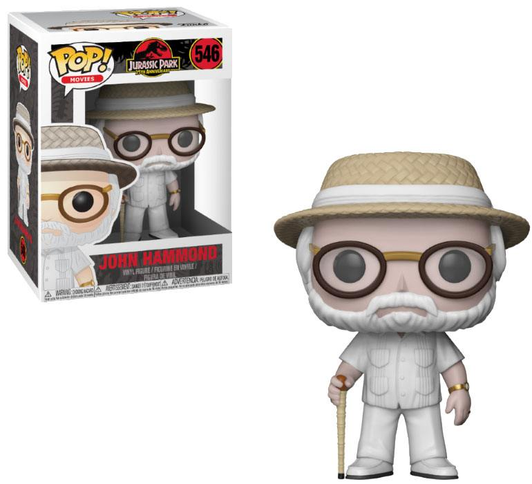 Pop! Movies: Jurassic Park - John Hammond Vinyl Figure 10 cm