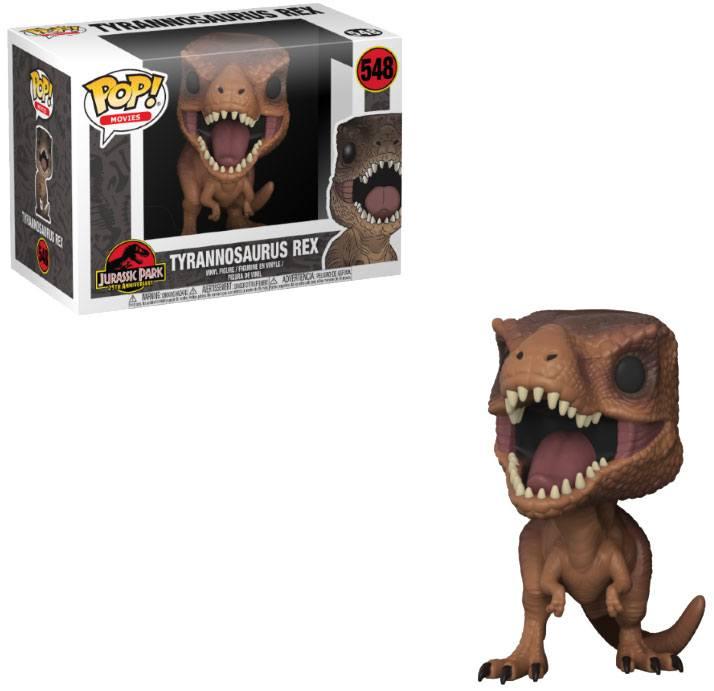 Pop! Movies: Jurassic Park - Tyrannosaurus Rex Vinyl Figure 10 cm