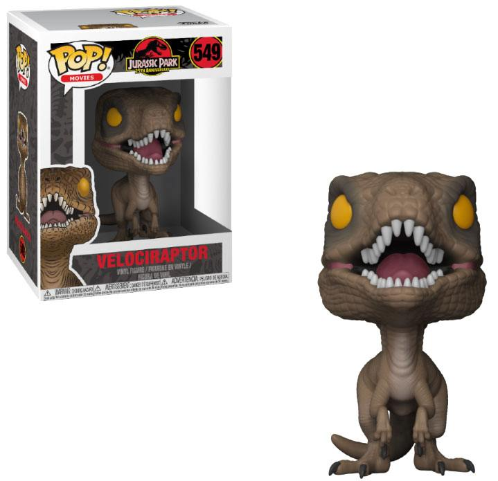Pop! Movies: Jurassic Park - Velociraptor Vinyl Figure 10 cm