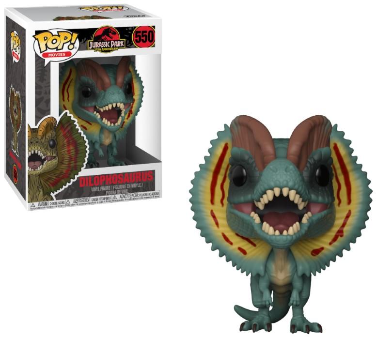Pop! Movies: Jurassic Park - Dilophosaurus Vinyl Figure 10 cm
