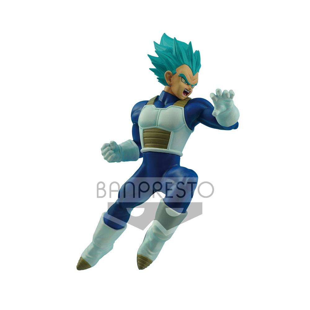 Dragonball Super In Flight Fighting Figure Super Saiyan Blue Vegeta 16 cm
