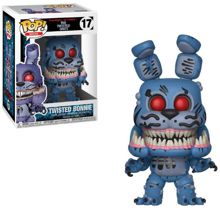 Five Nights at Freddy's The Twisted Ones POP! Books Twisted Bonnie
