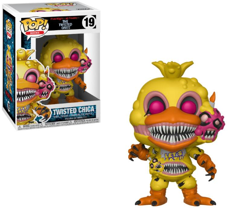 Five Nights at Freddy's The Twisted Ones POP! Books Twisted Chica