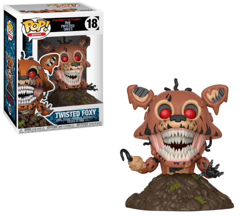 Five Nights at Freddy's The Twisted Ones POP! Books Twisted Foxy