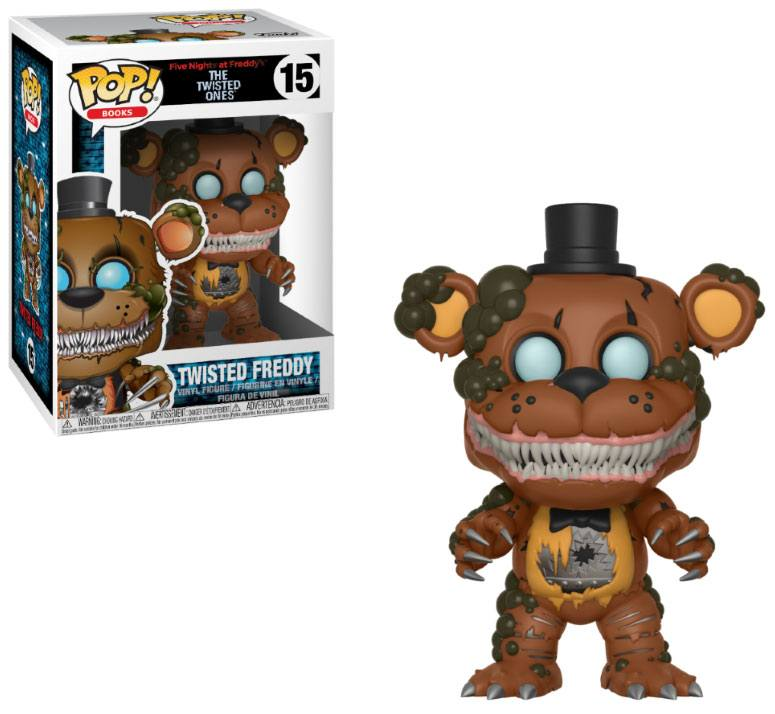 Five Nights at Freddy's The Twisted Ones POP! Books Twisted Freddy