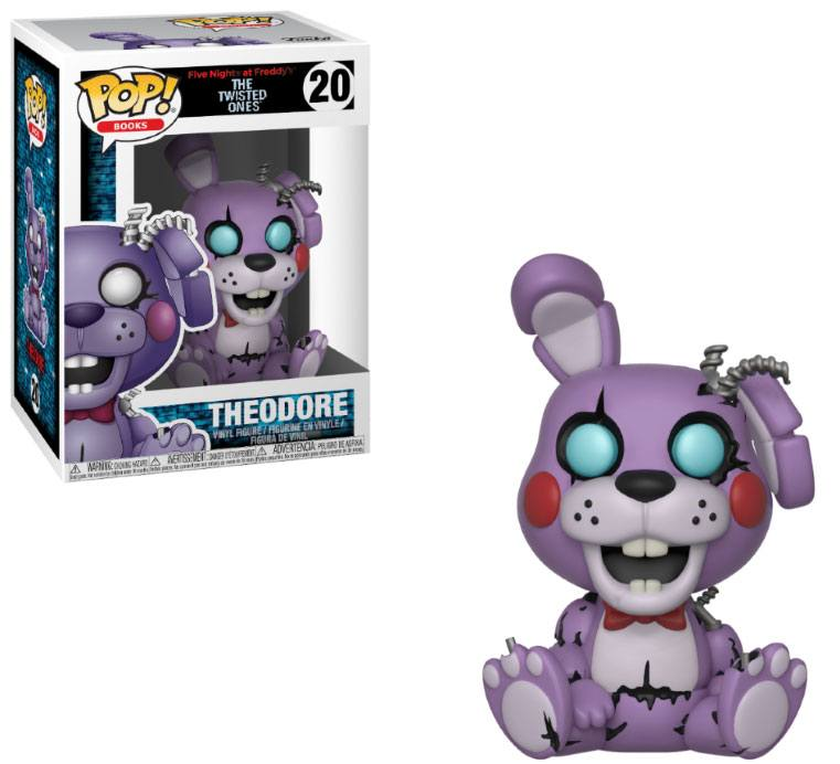 Five Nights at Freddy's The Twisted Ones POP! Books Twisted Theodore