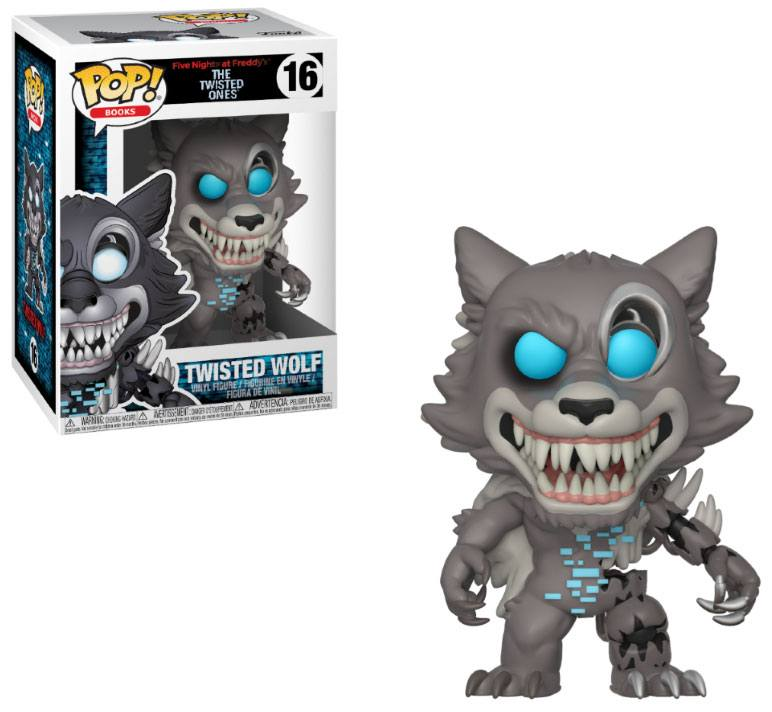 Five Nights at Freddy's The Twisted Ones POP! Books Twisted Wolf