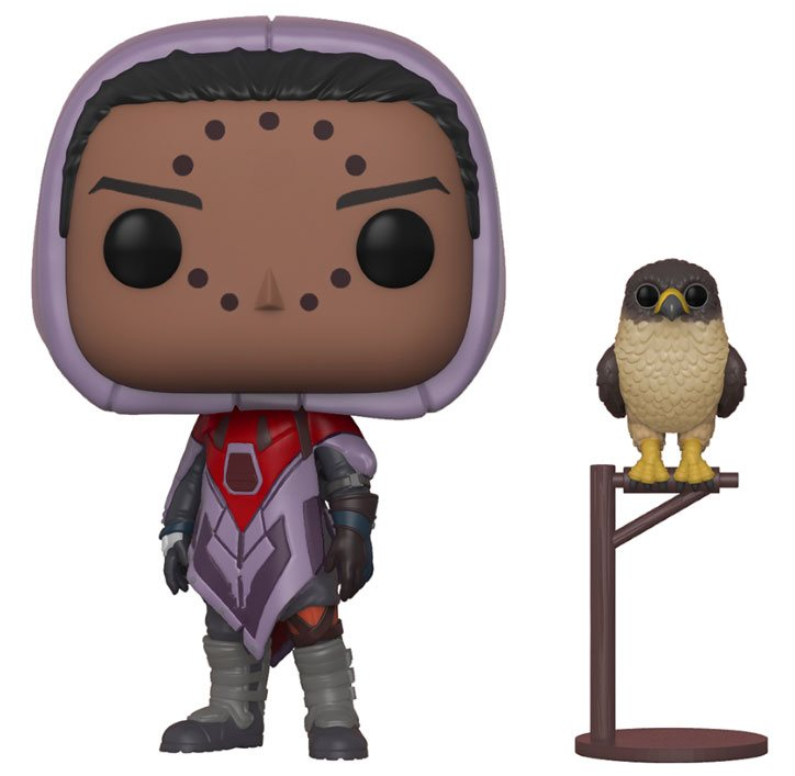 Destiny POP! Games Vinyl Figure Hawthorne w/ Hawk 10 cm
