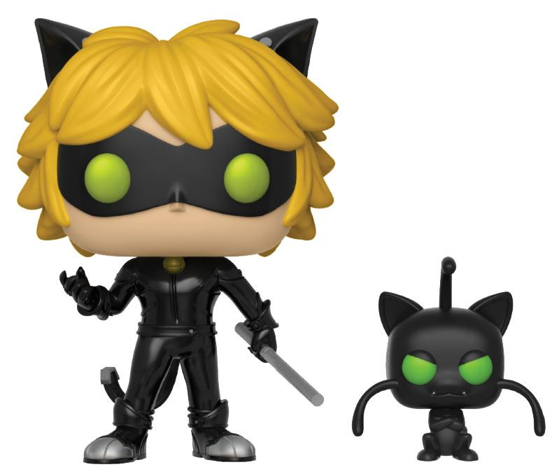 Miraculous: Tales of Ladybug & Cat Noir POP! Animation Cat Noir & Plagg