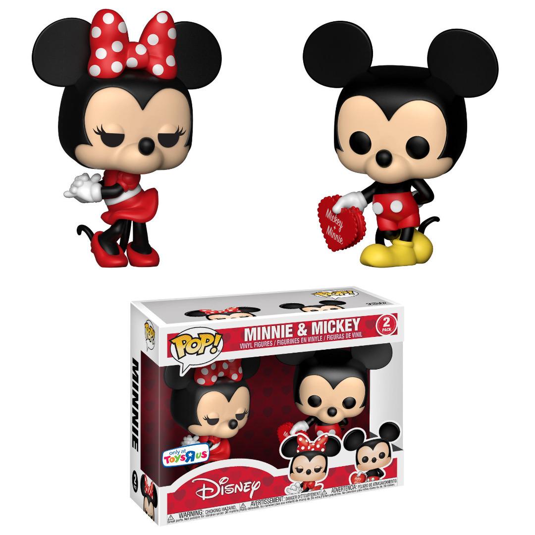 Disney POP! Vinyl Figures 2-Pack Mickey & Minnie Exclusive Edition 10 cm
