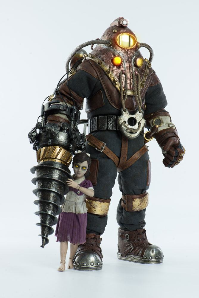 BioShock Action Figure 2-Pack 1/6 Subject Delta & Little Sister 33 cm